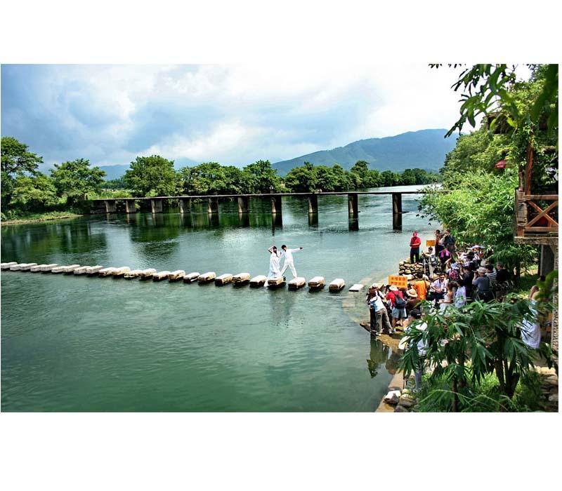 山水风光, 古代遗址 景点区域: 临桂景区 | 桂林321国道临桂五通镇段